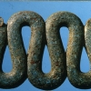 Two headed serpent of time, Aztec, Mexico
