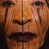 Painted face, New Guinea