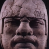 Olmec head, Mexico